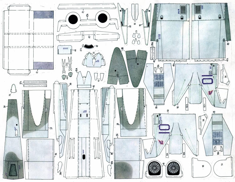 Модели самолетов из потолочной плитки своими руками чертежи