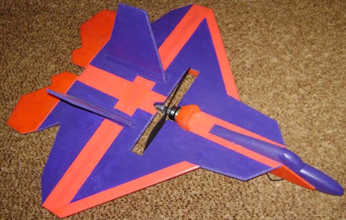 Как сделать из плитки самолёт